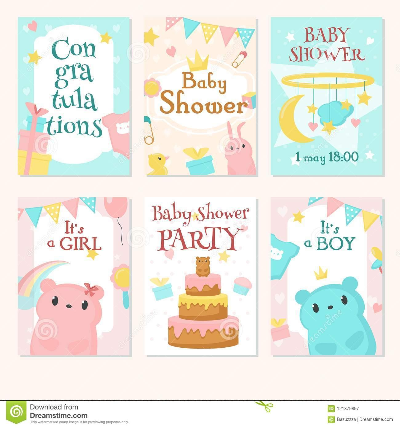 Baby Celebration Invitation Template