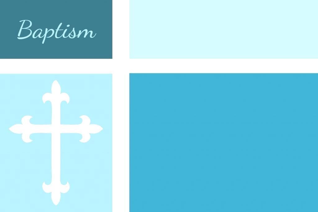 Baby Christening Invitation Templates Psd