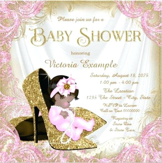 Baby Dress Invitation Template Free