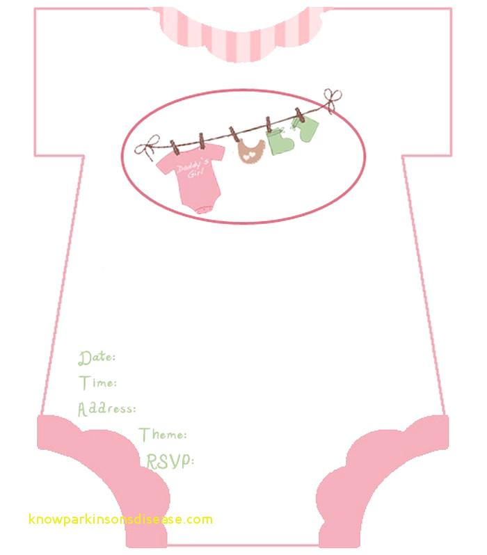 Baby Girl Shower Invitations Free Templates