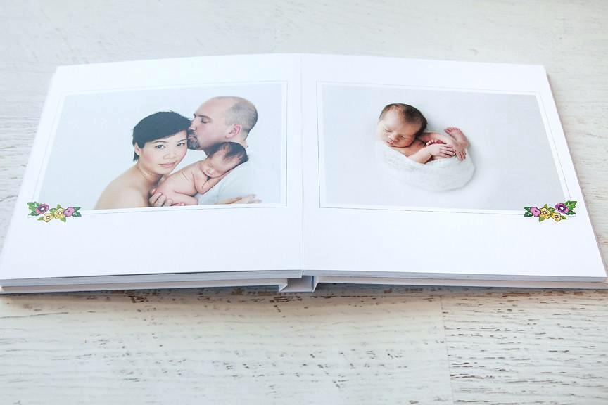 Baby Photo Album Design Templates