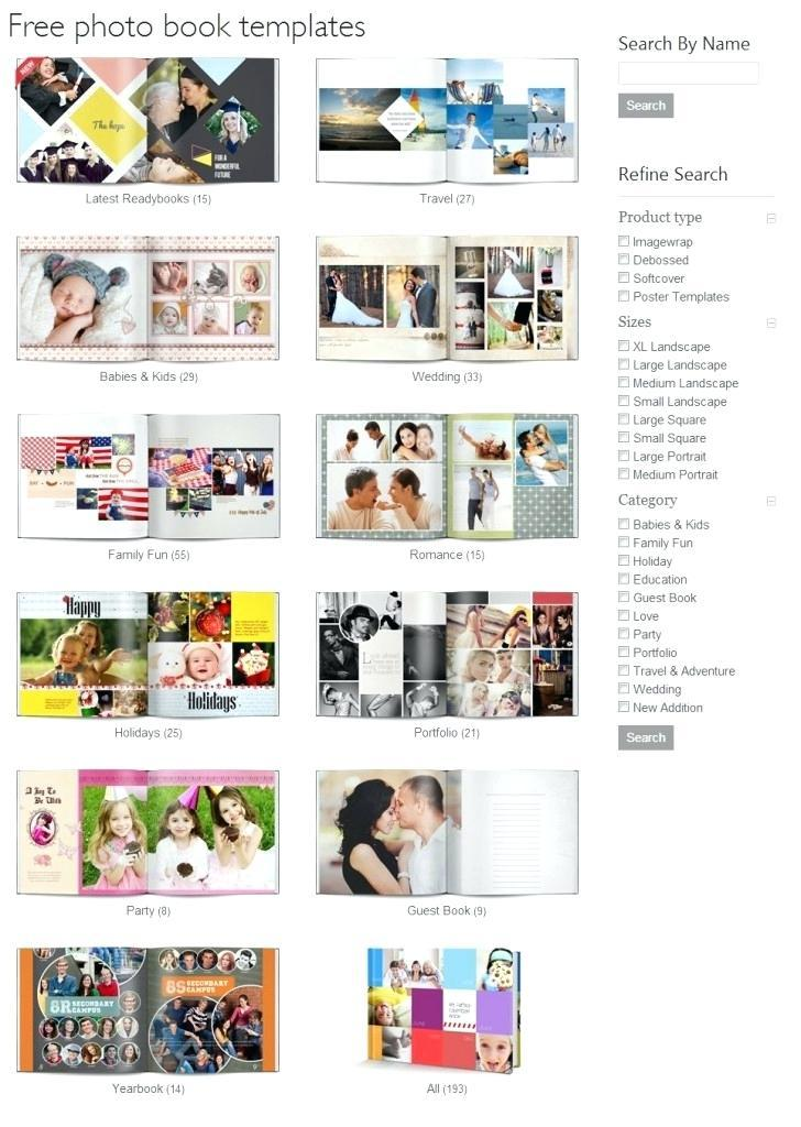 Baby Photobook Template Free