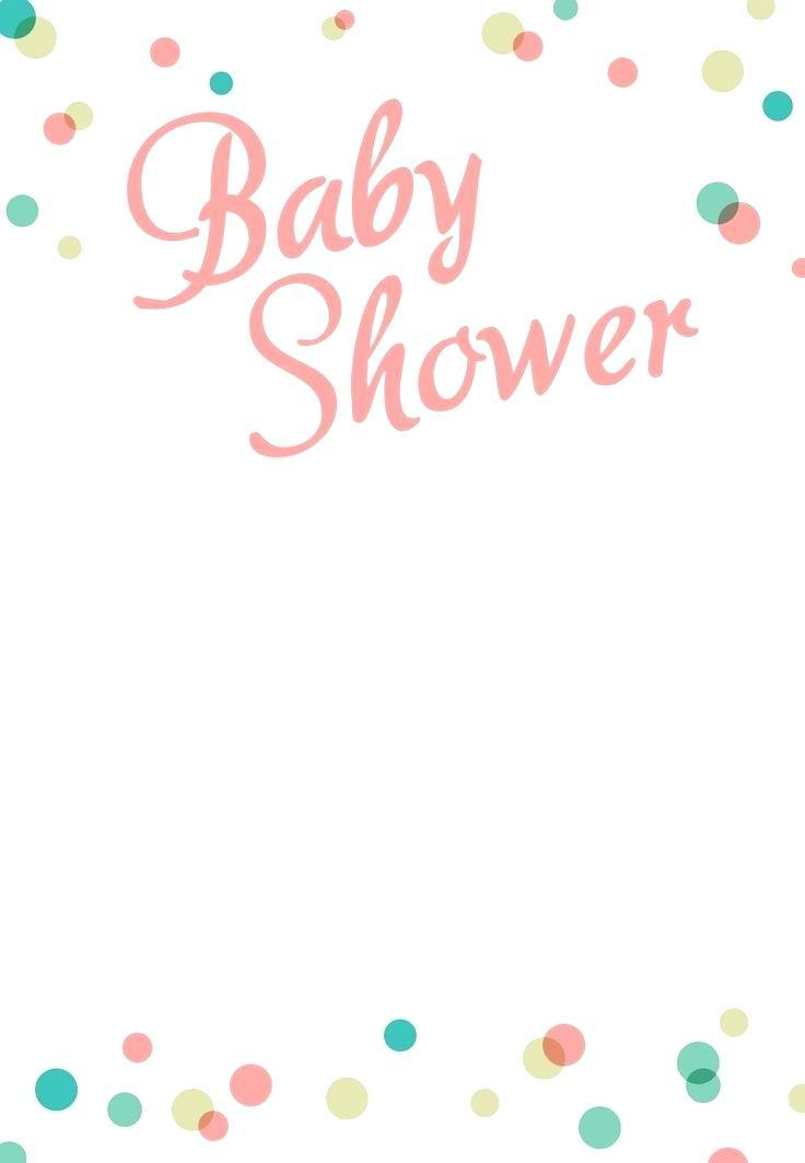 Baby Shower Invitation Template Canva