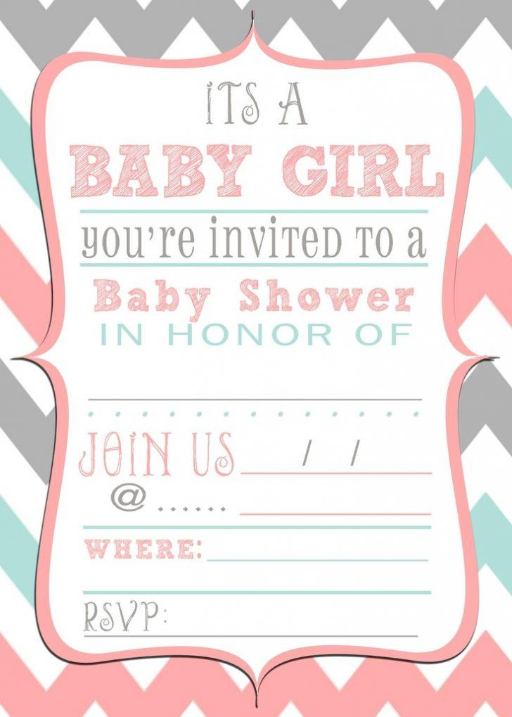 Baby Shower Invitation Templates Etsy