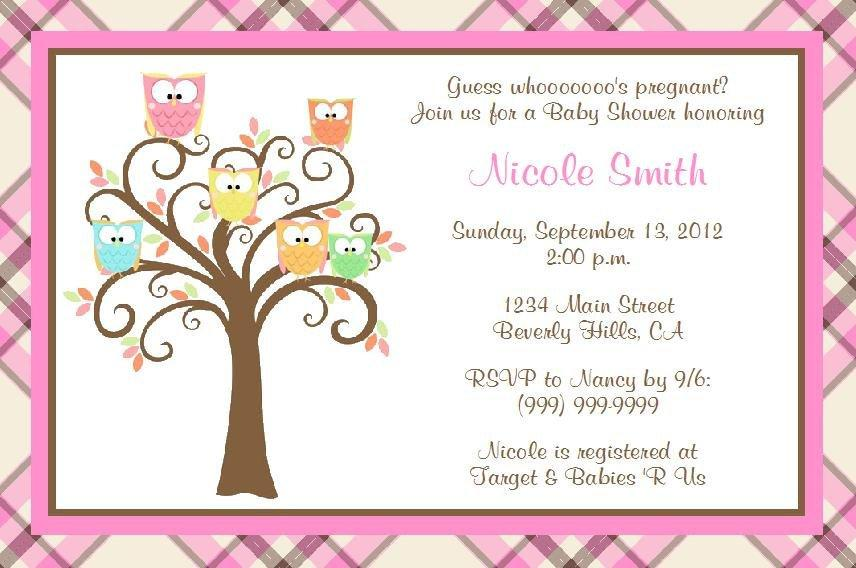 Baby Shower Invitations Printable Templates