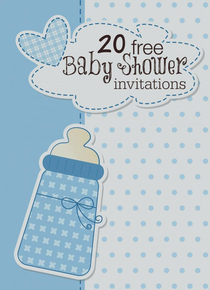 Baby Shower Invitations Template Online