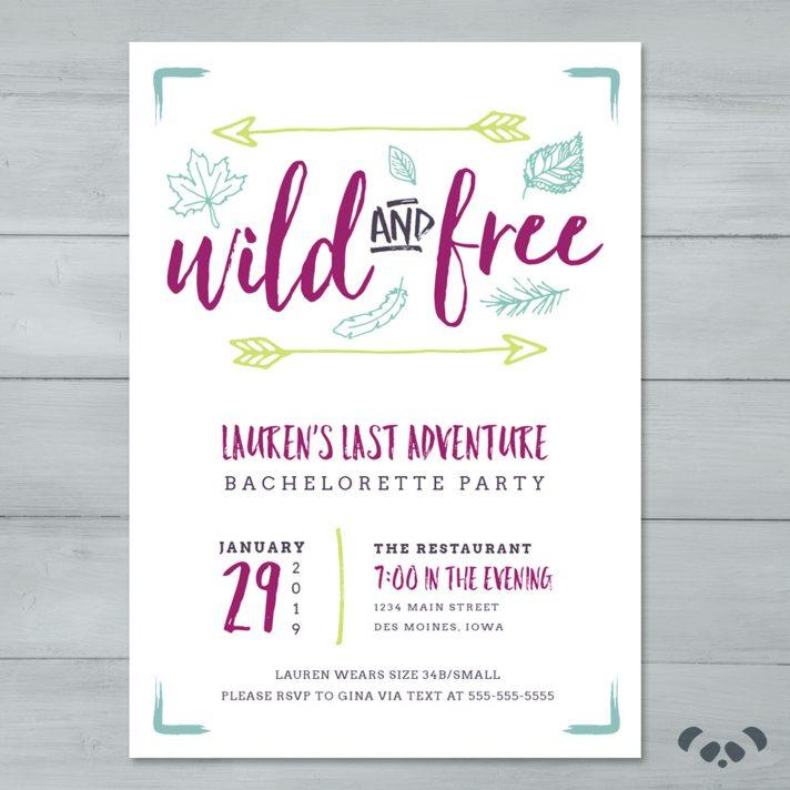 Bachelorette Itinerary Template Online