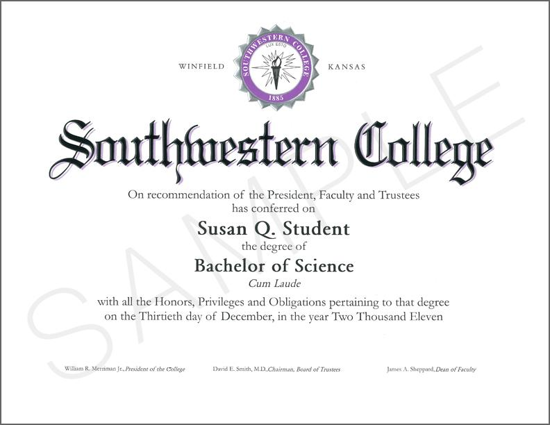 Bachelor's Degree Certificates Templates