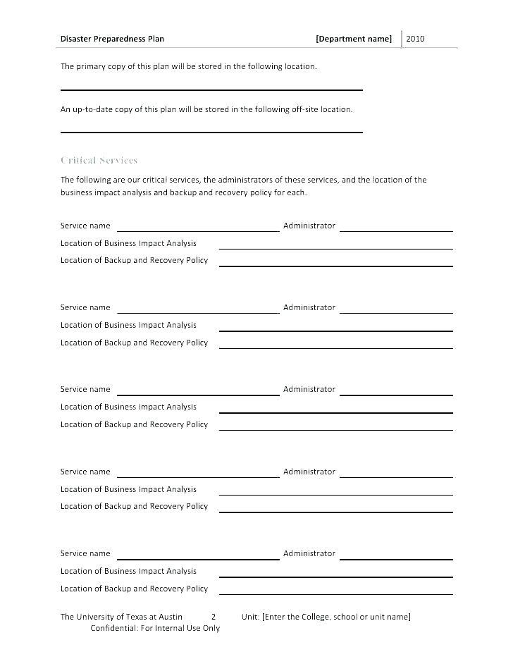 Backup Policy Template Free