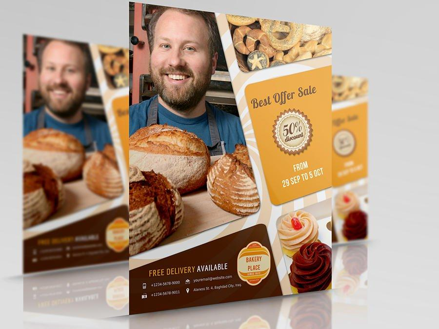 Bakery Flyer Templates Free