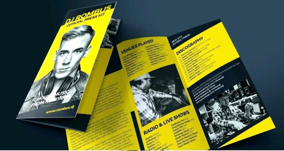 Band Press Kit Template Download