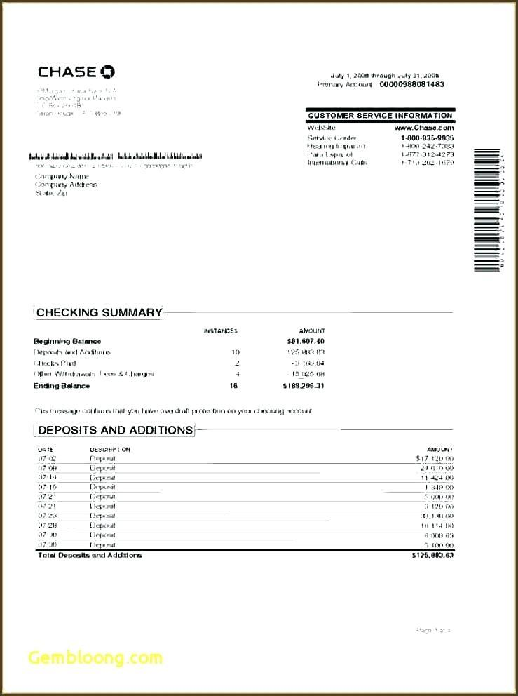 Bank Reconciliation Template Doc