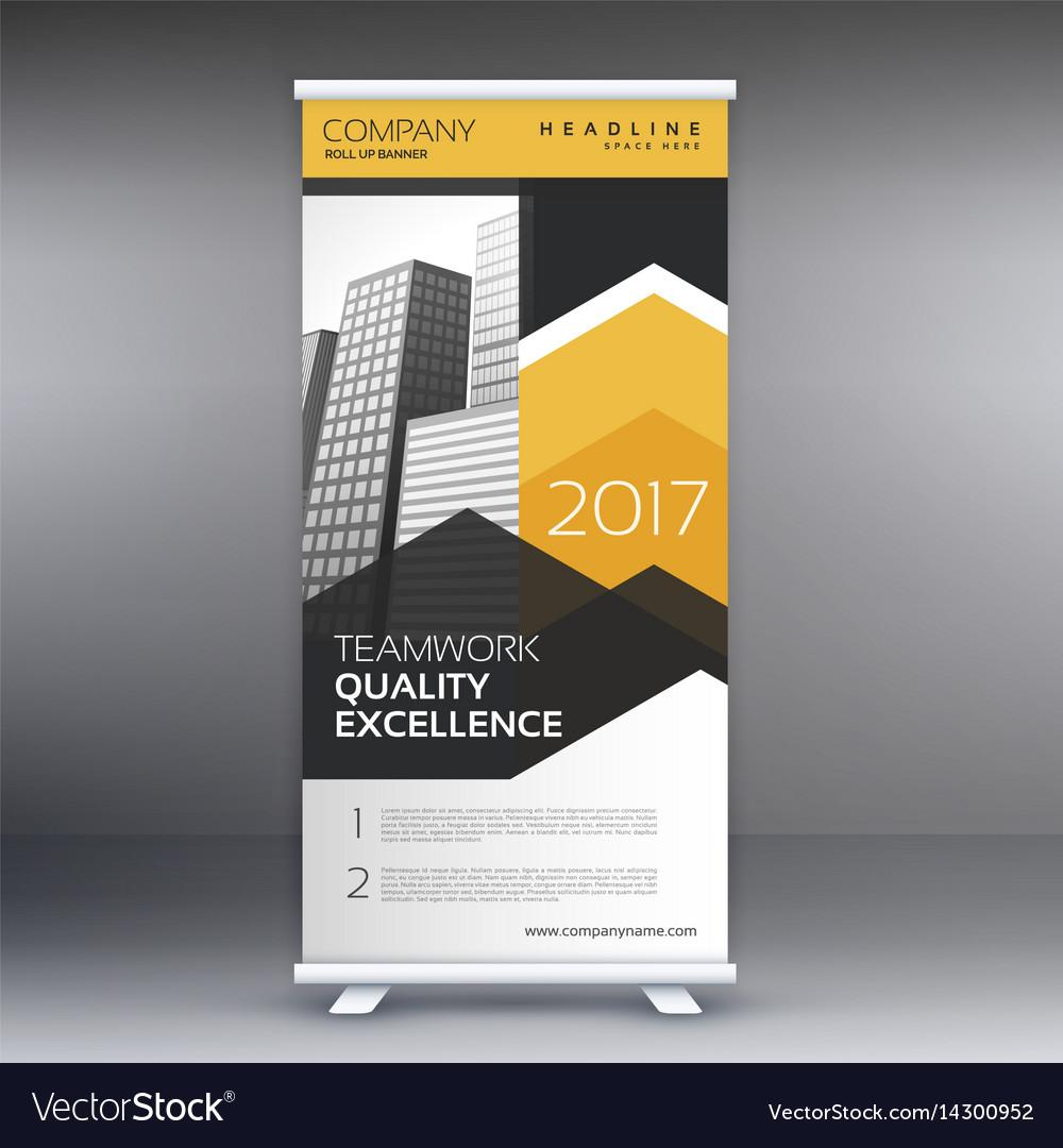 Banner Stand Design Template Free