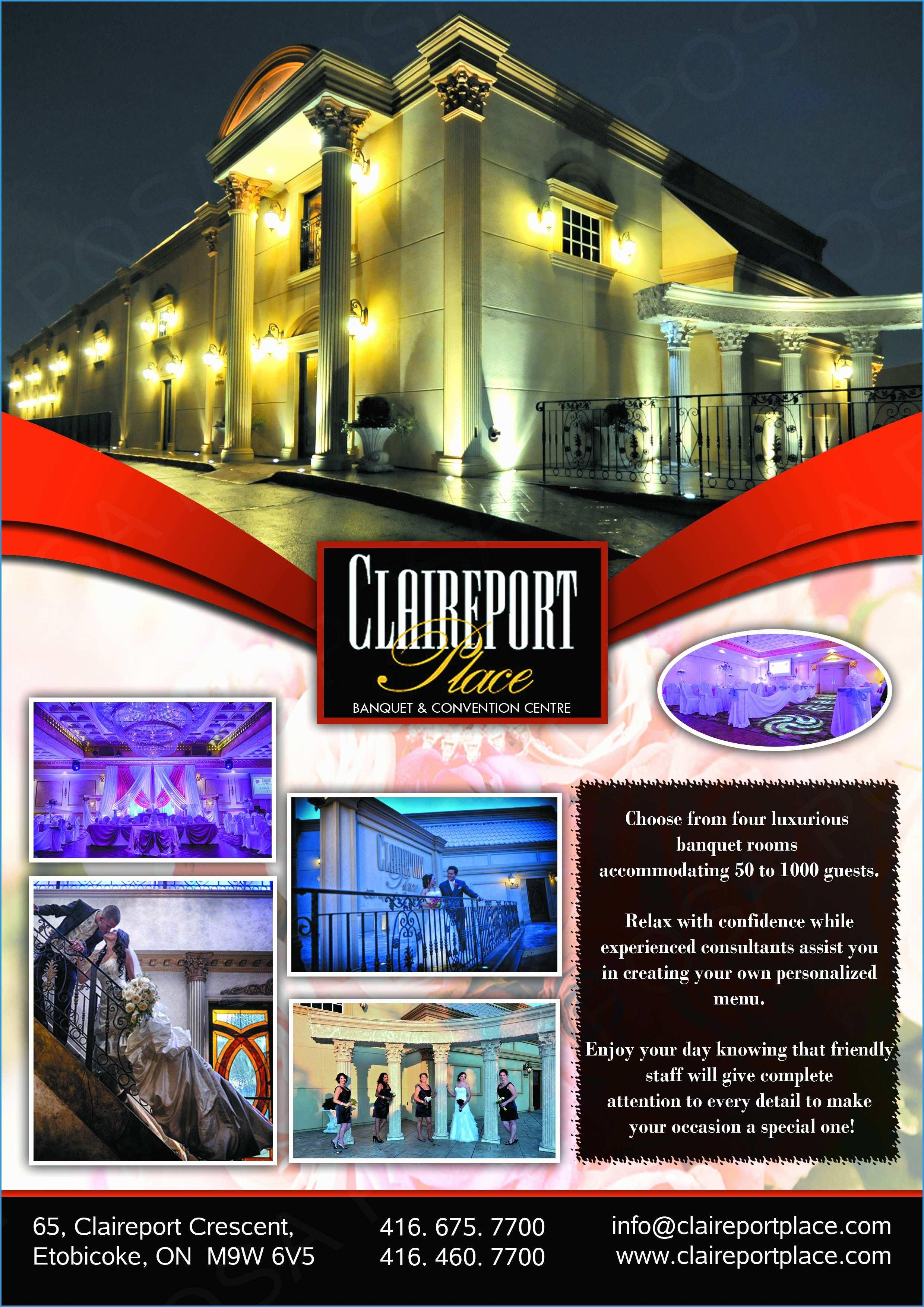 Banquet Hall Website Templates