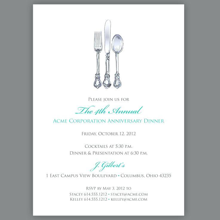 Banquet Invitation Card Template