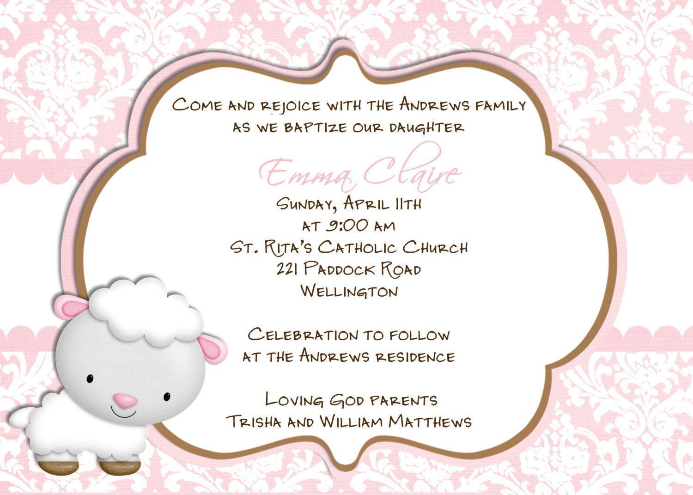 Baptism Cards Templates