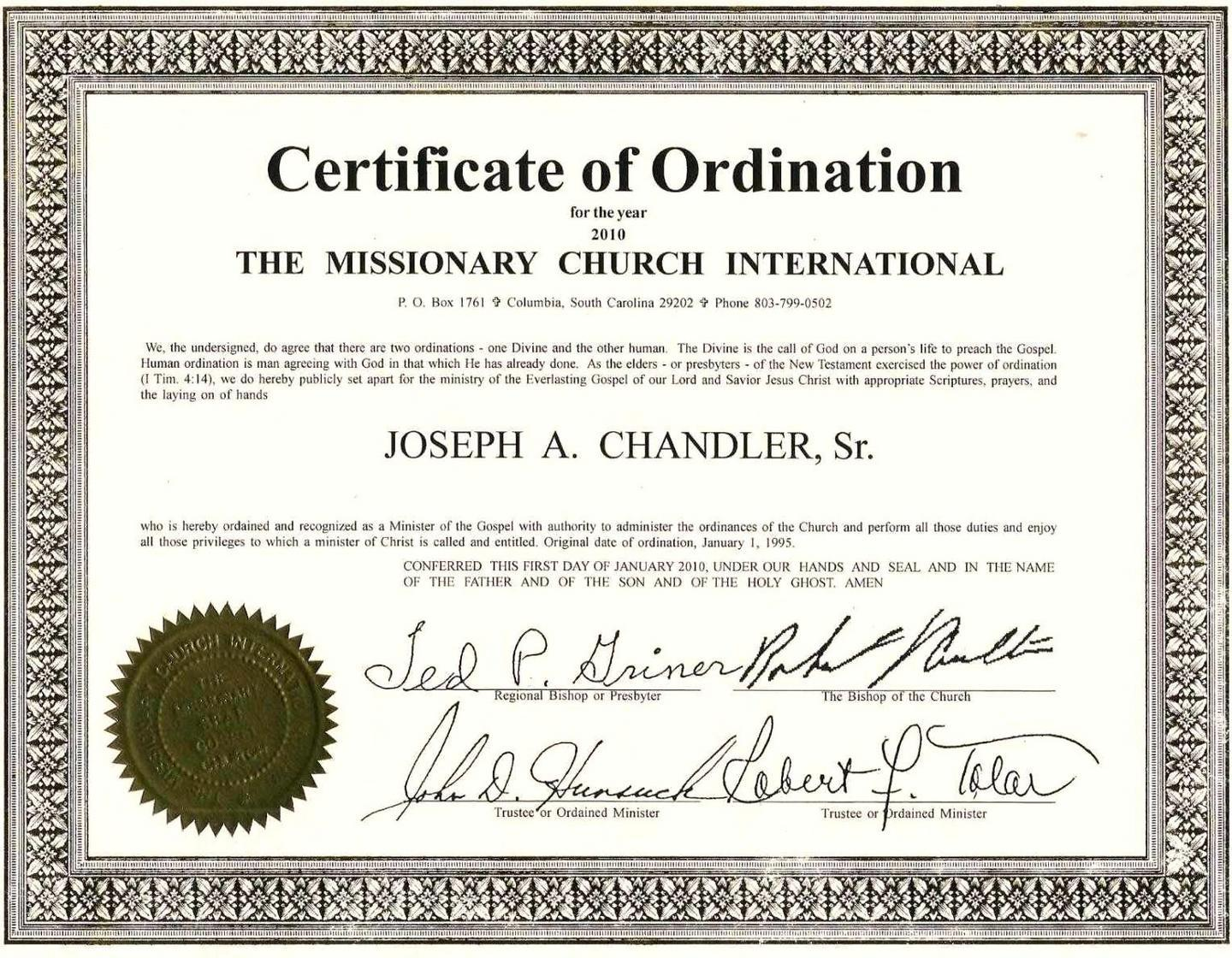 Baptism Certificate Template Church Of England