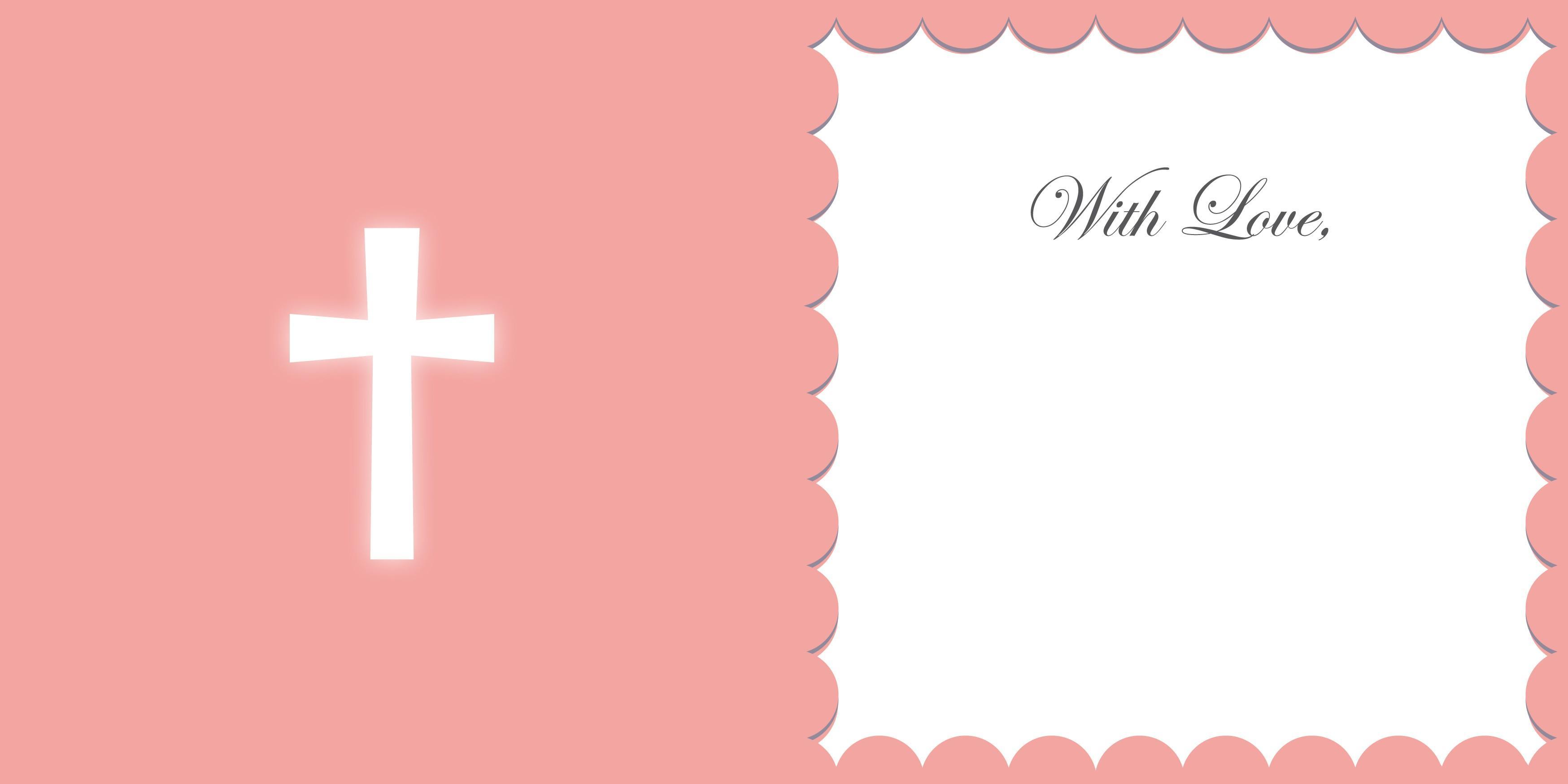 Baptism Invitation Template Microsoft Word Free