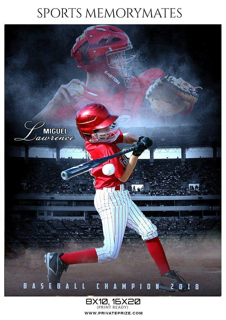 Baseball Memory Mate Templates