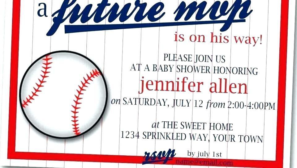 Baseball Ticket Invitations Printable