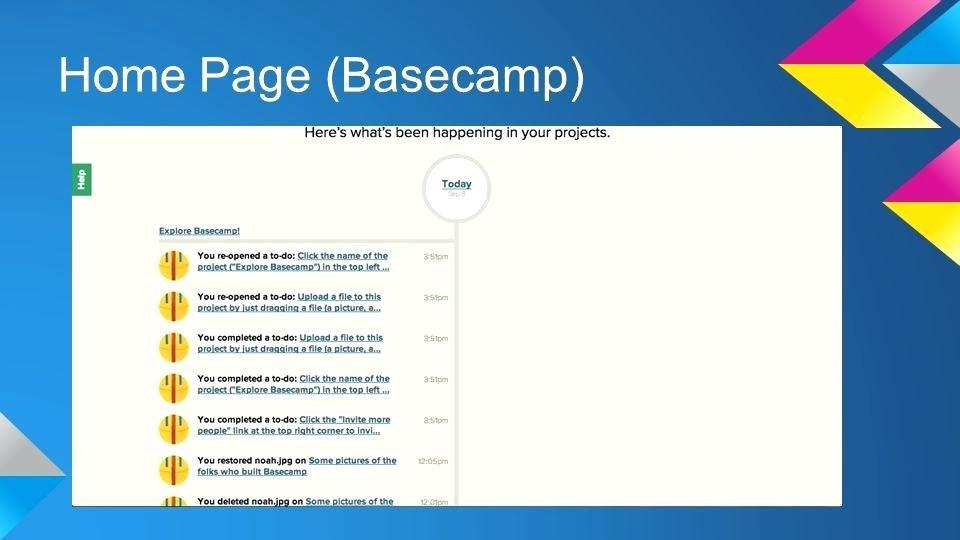 Basecamp 3 Project Templates