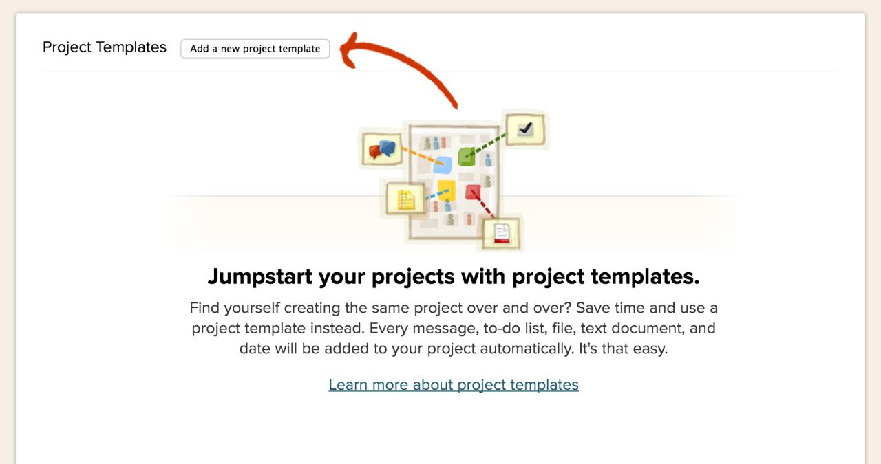 Basecamp Project Templates