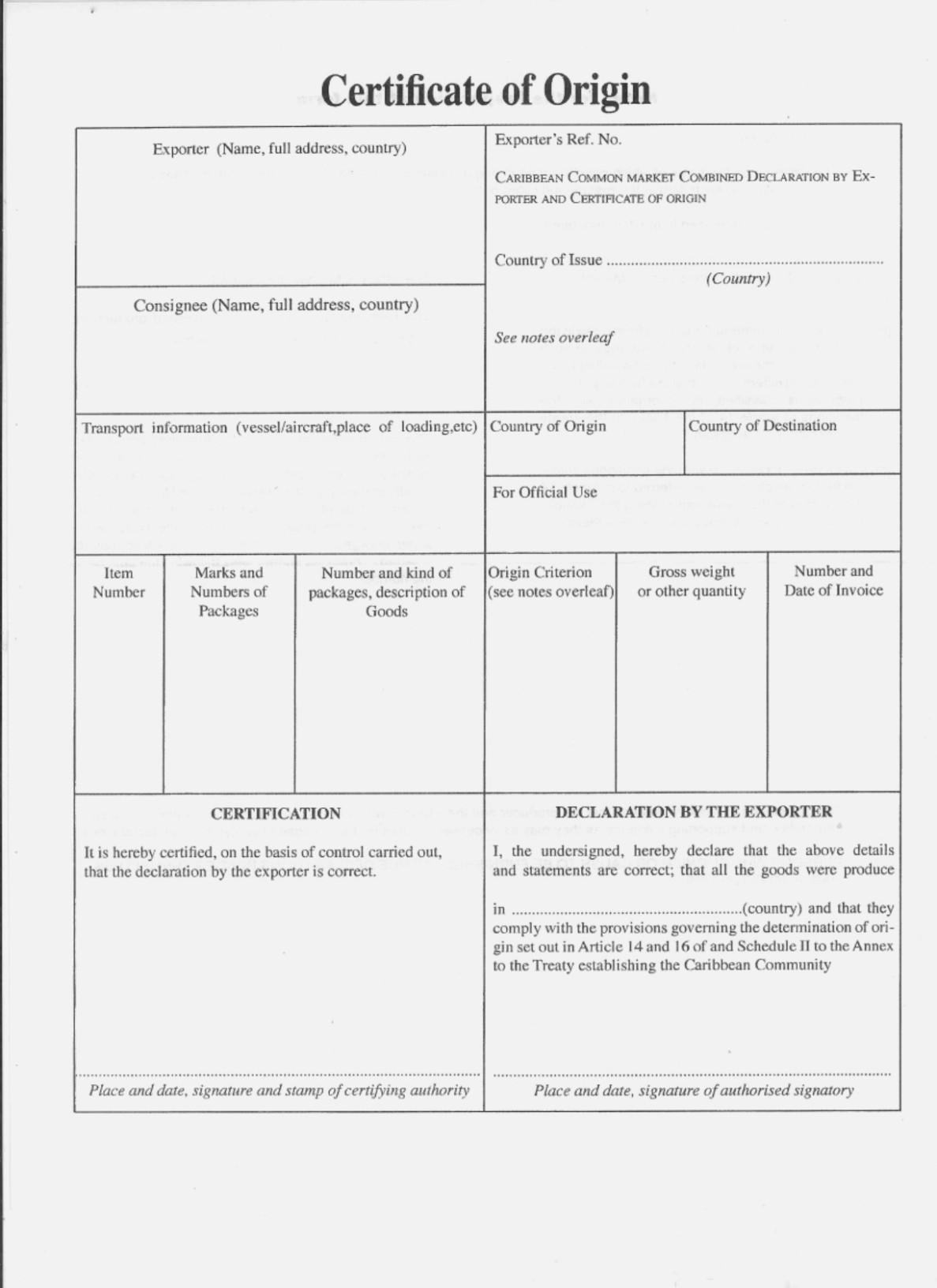 Basic Invoice Template Canada