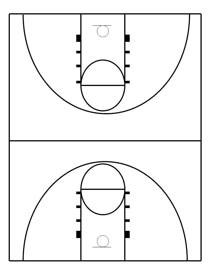 Basketball Offense Template