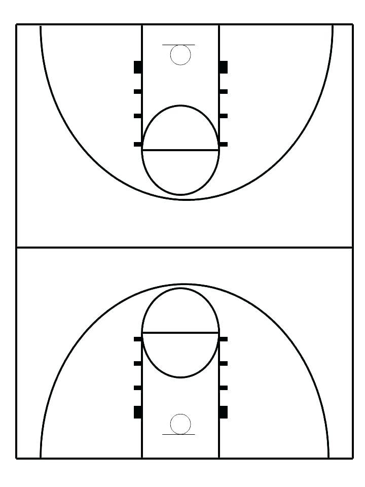 Basketball Playbook Template Word