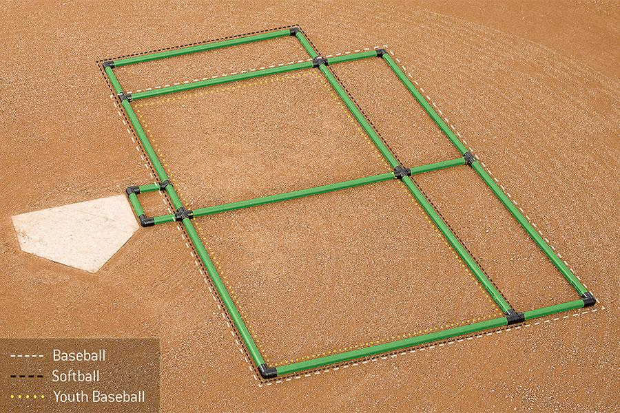 Batter Box Template