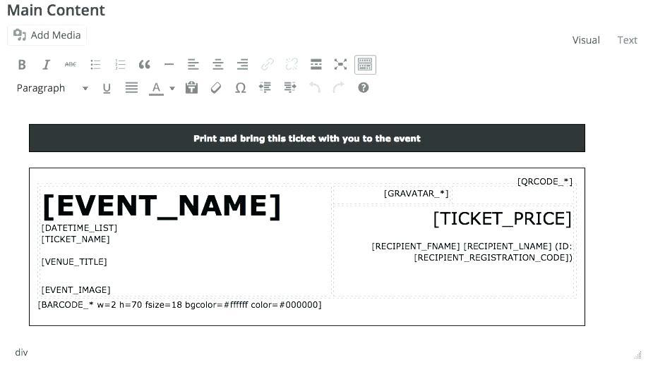 Bbq Ticket Template Publisher