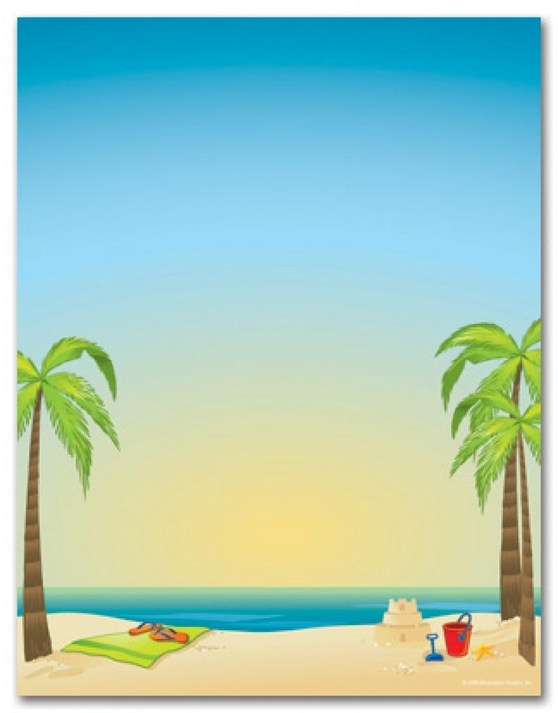 Beach Invitation Template Free