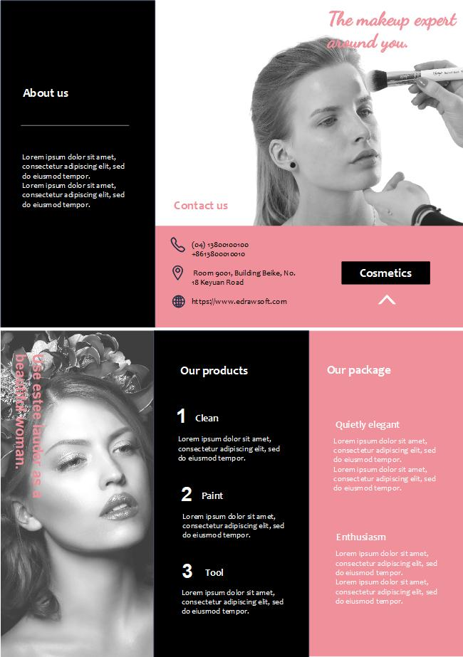 Beauty Salon Brochure Templates Free