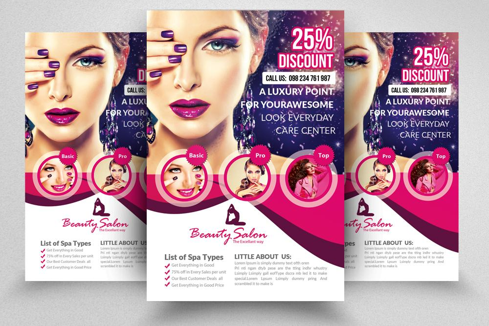 Beauty Salon Flyer Templates Free