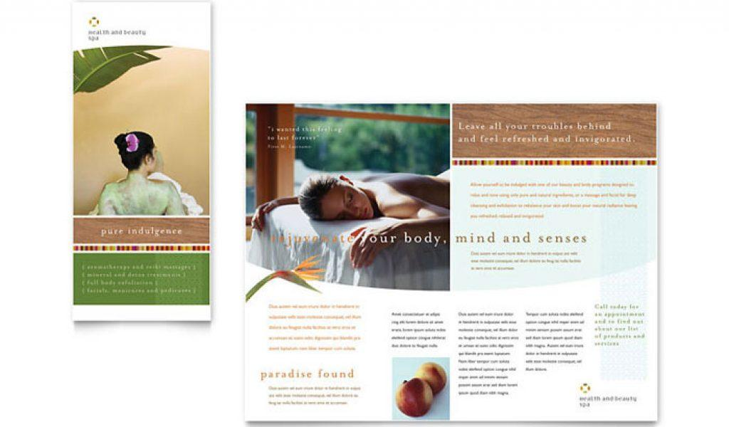 Beauty Spa Brochure Templates