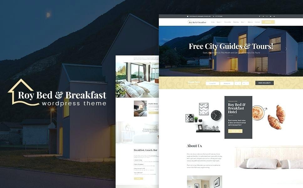 Bed And Breakfast Website Templates Free Download