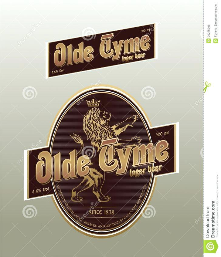 Beer Label Template Adobe Illustrator