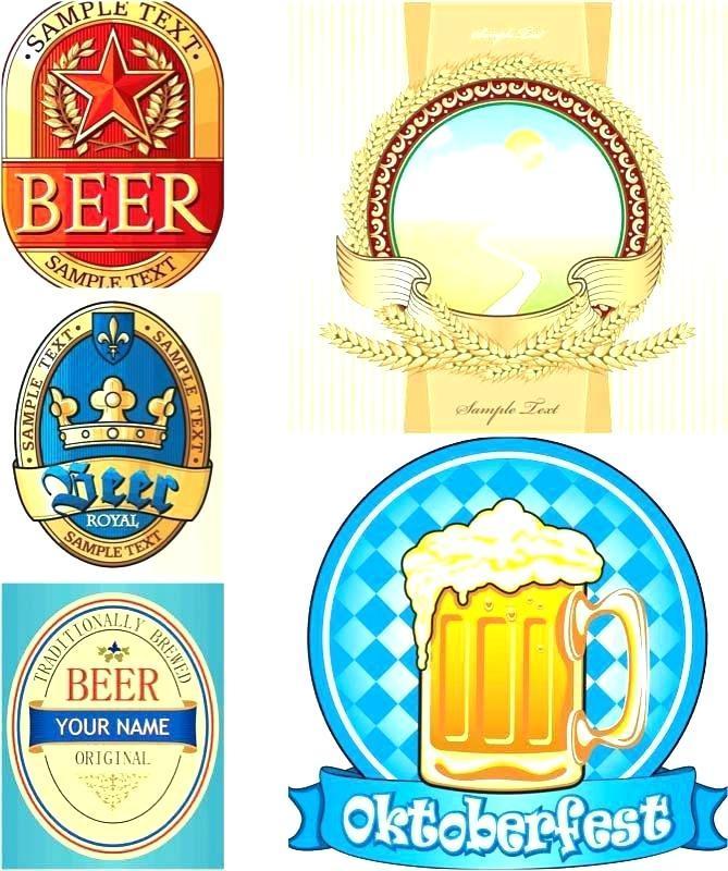 Beer Label Template Download