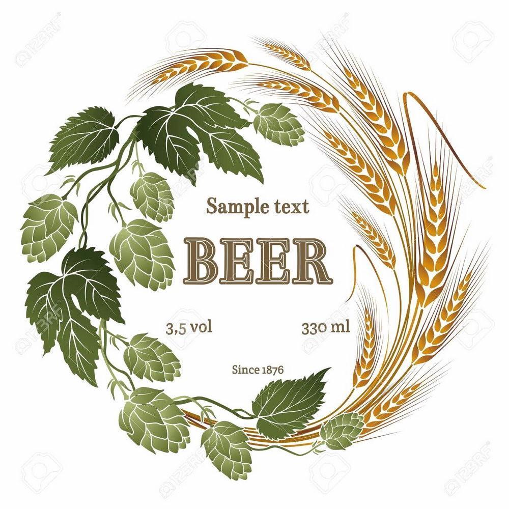 Beer Label Template Eps