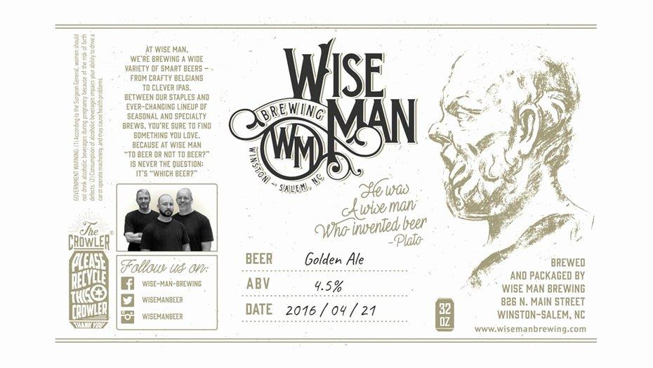 Beer Label Template Pages