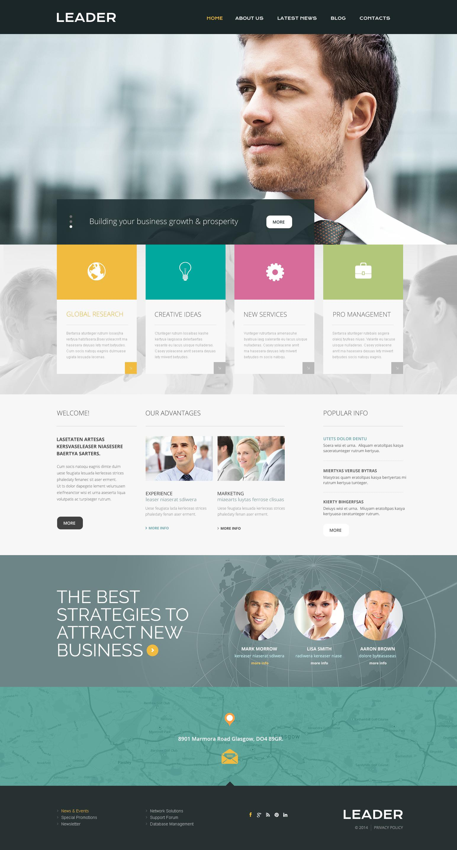 Best Consulting Websites Templates