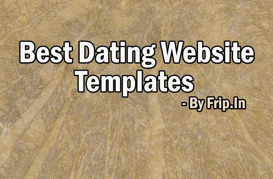 Best Dating Website Templates