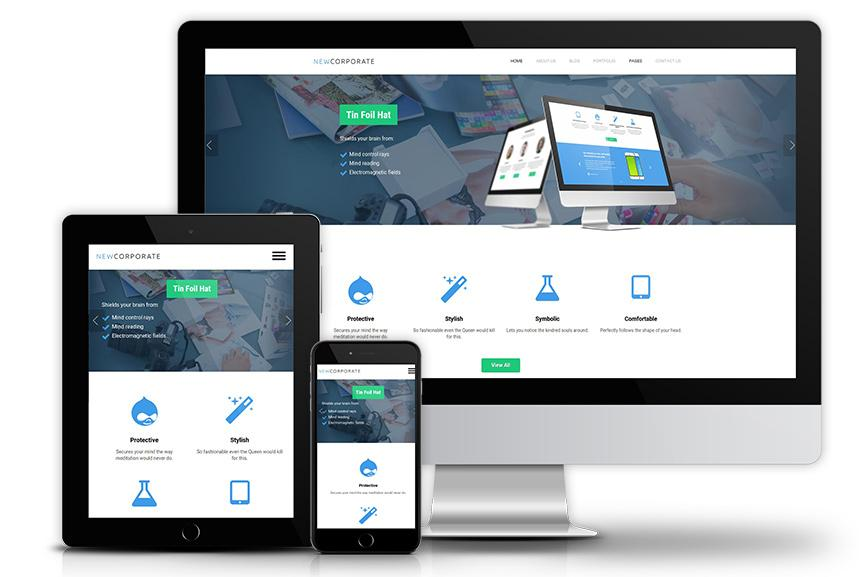 Best Drupal Theme For Mobile