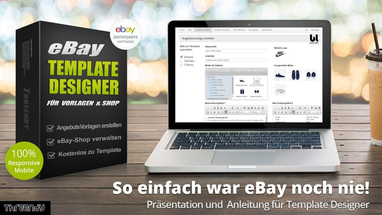 Best Ebay Template Software