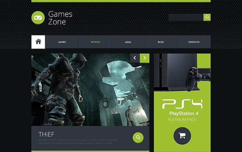 Best Gaming Website Templates