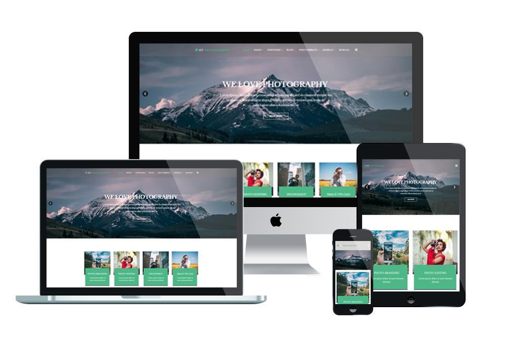 Best Joomla Photography Templates