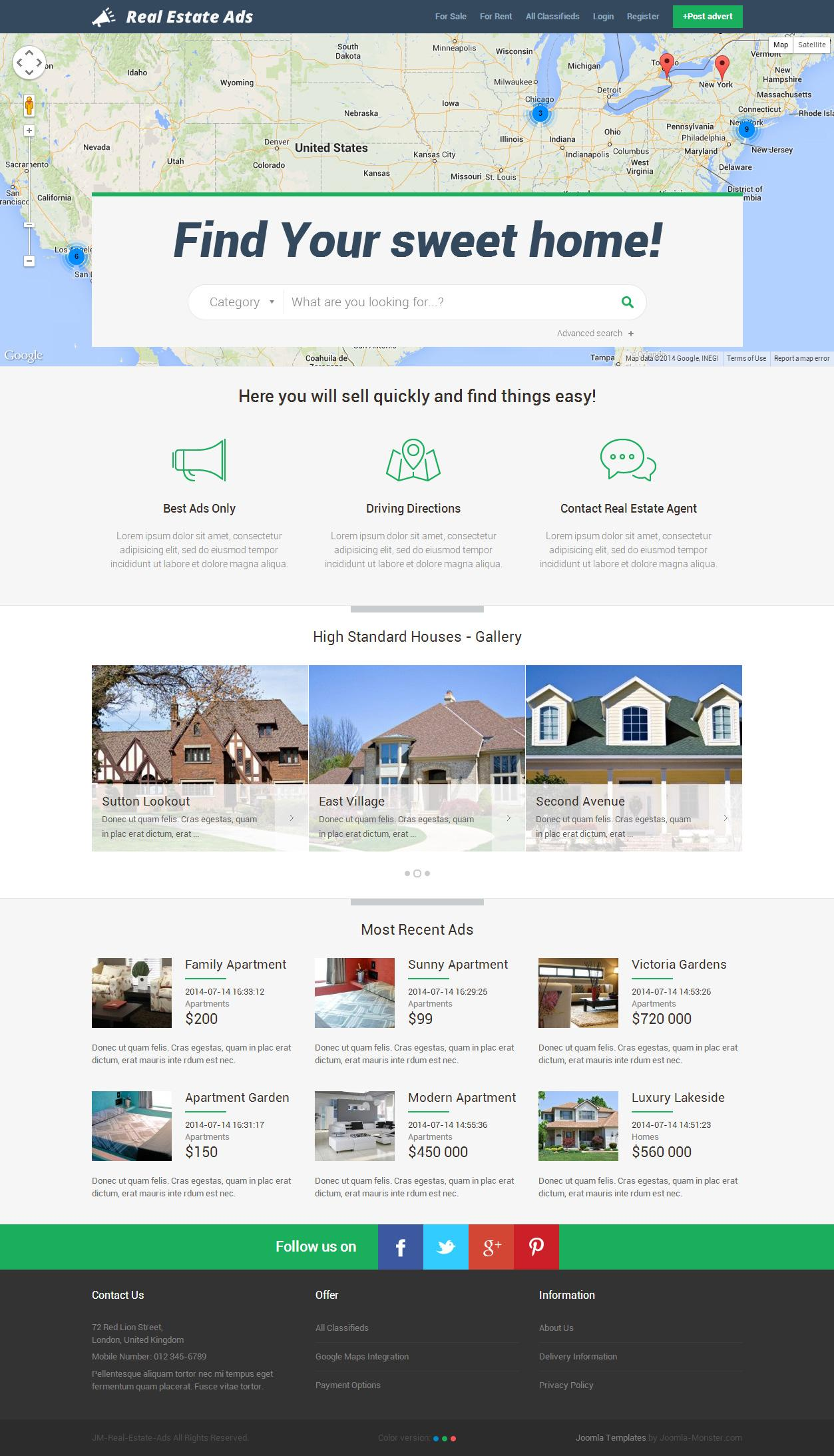 Best Joomla Real Estate Templates