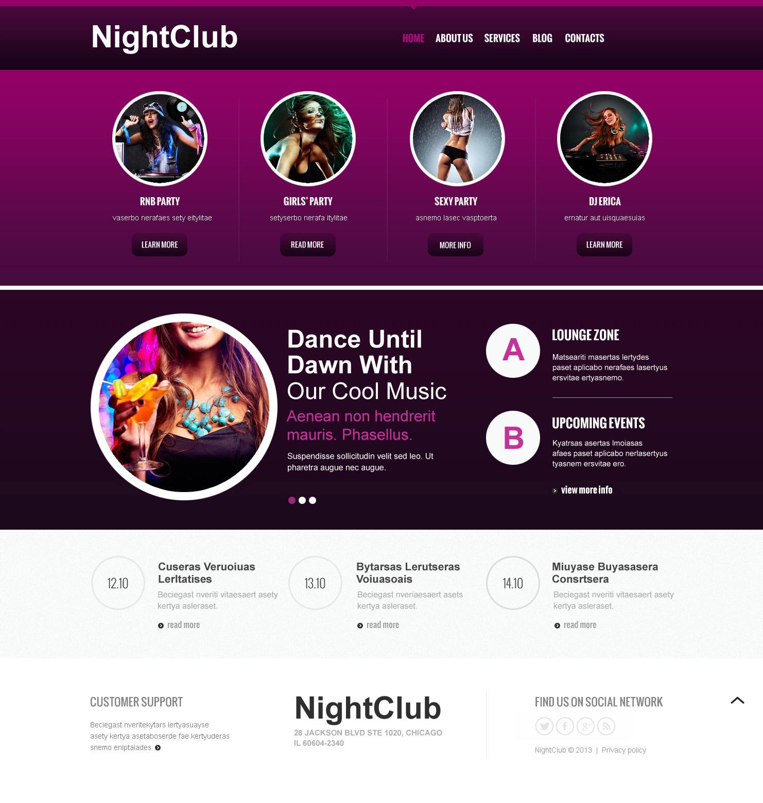 Best Joomla Template Club