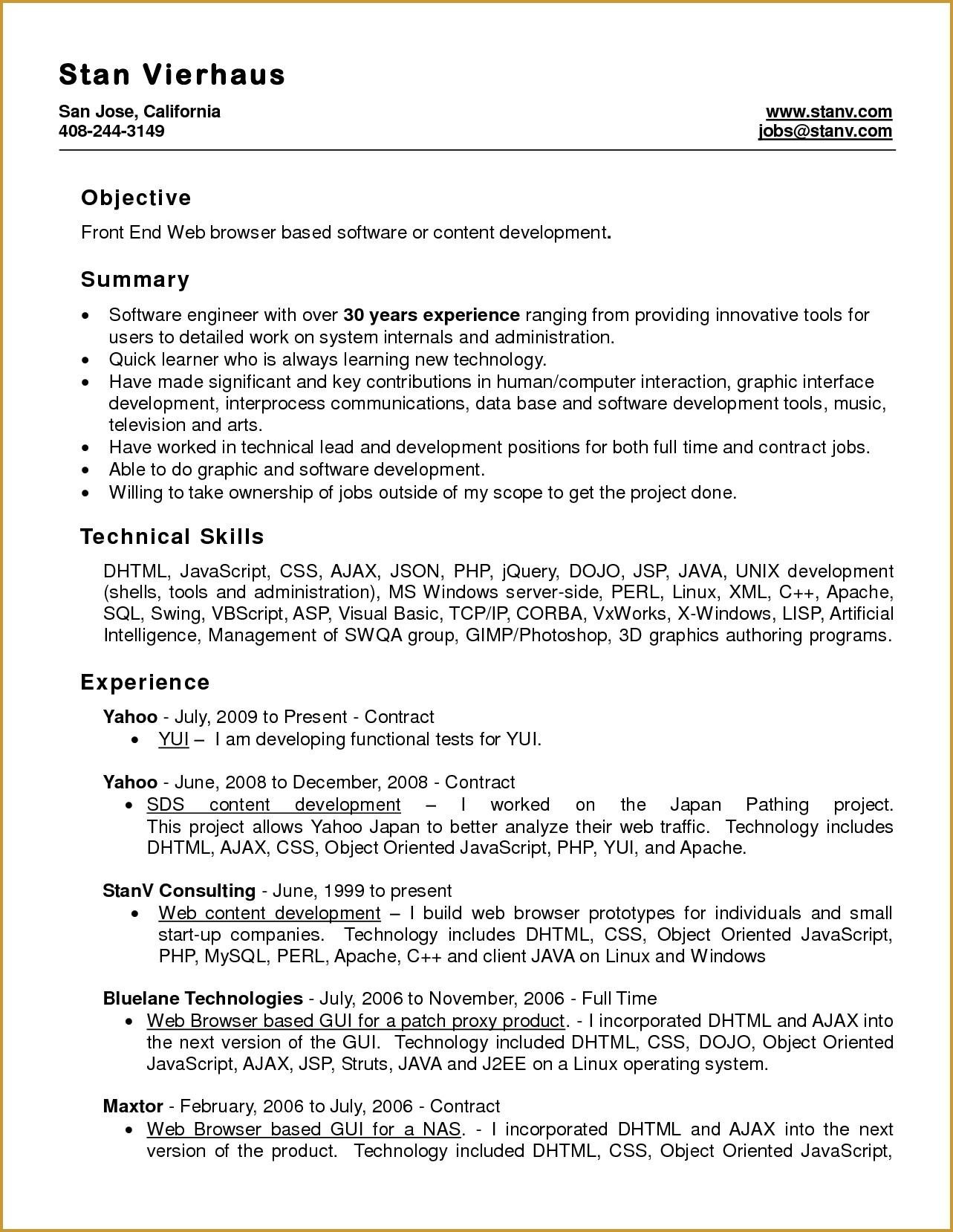 Best Microsoft Word Template For Resume