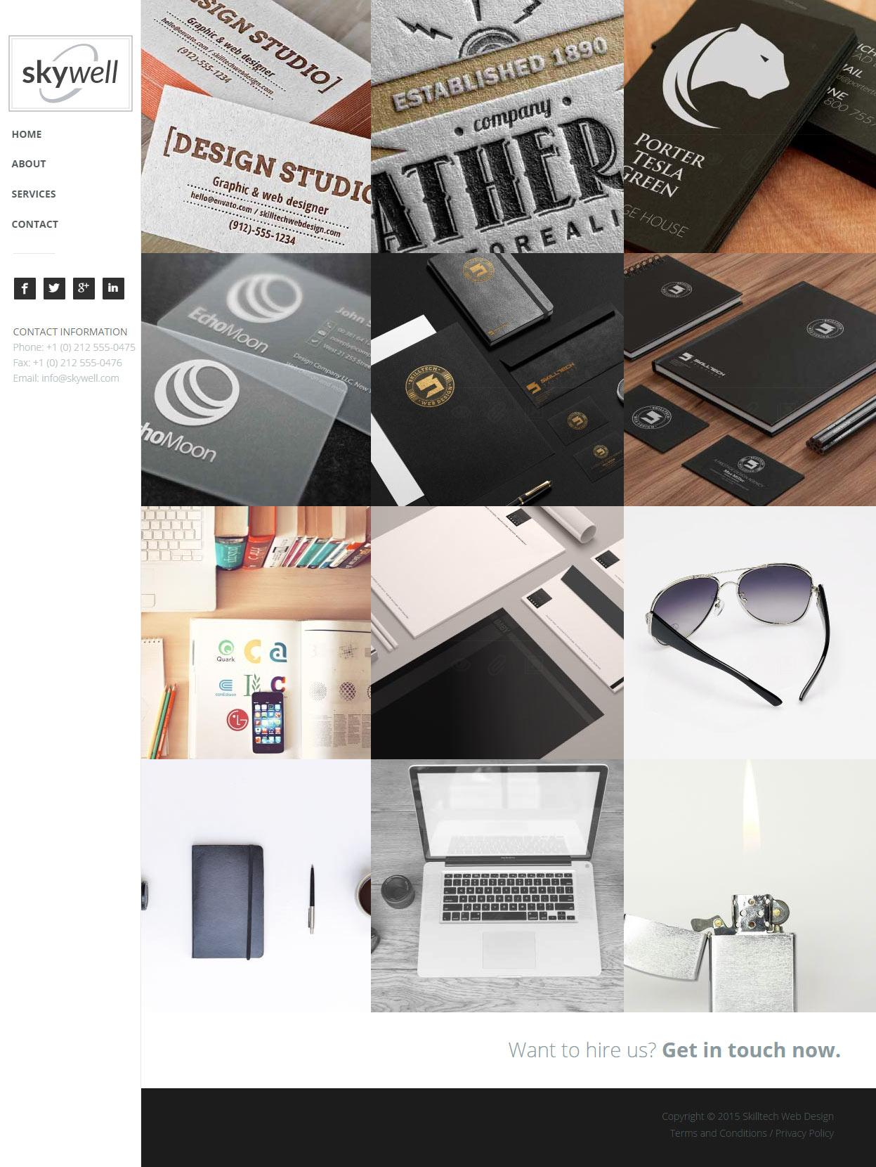 Best Muse Responsive Templates